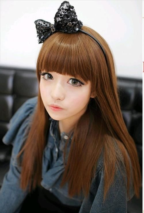 Korean Baby Doll Hairstyles Hair Trends 2014 Korean Hairstyle Hair Styles Hair Trends