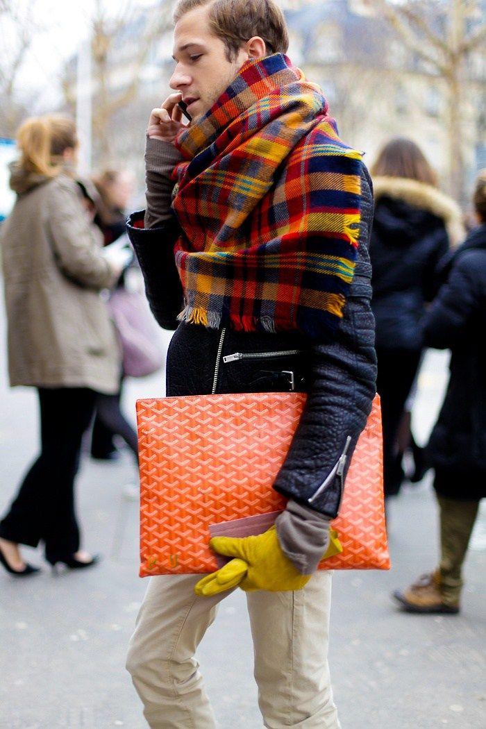 Fashion trend oversized scarf 63