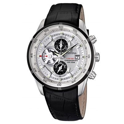 Festina F6821/1 Gents Chronograph Sales-Price: 170,05 EUR http://www.uhrcenter.de/watches/festina/herrenuhren-sport/festina-herren-chronograph-f6821-1/
