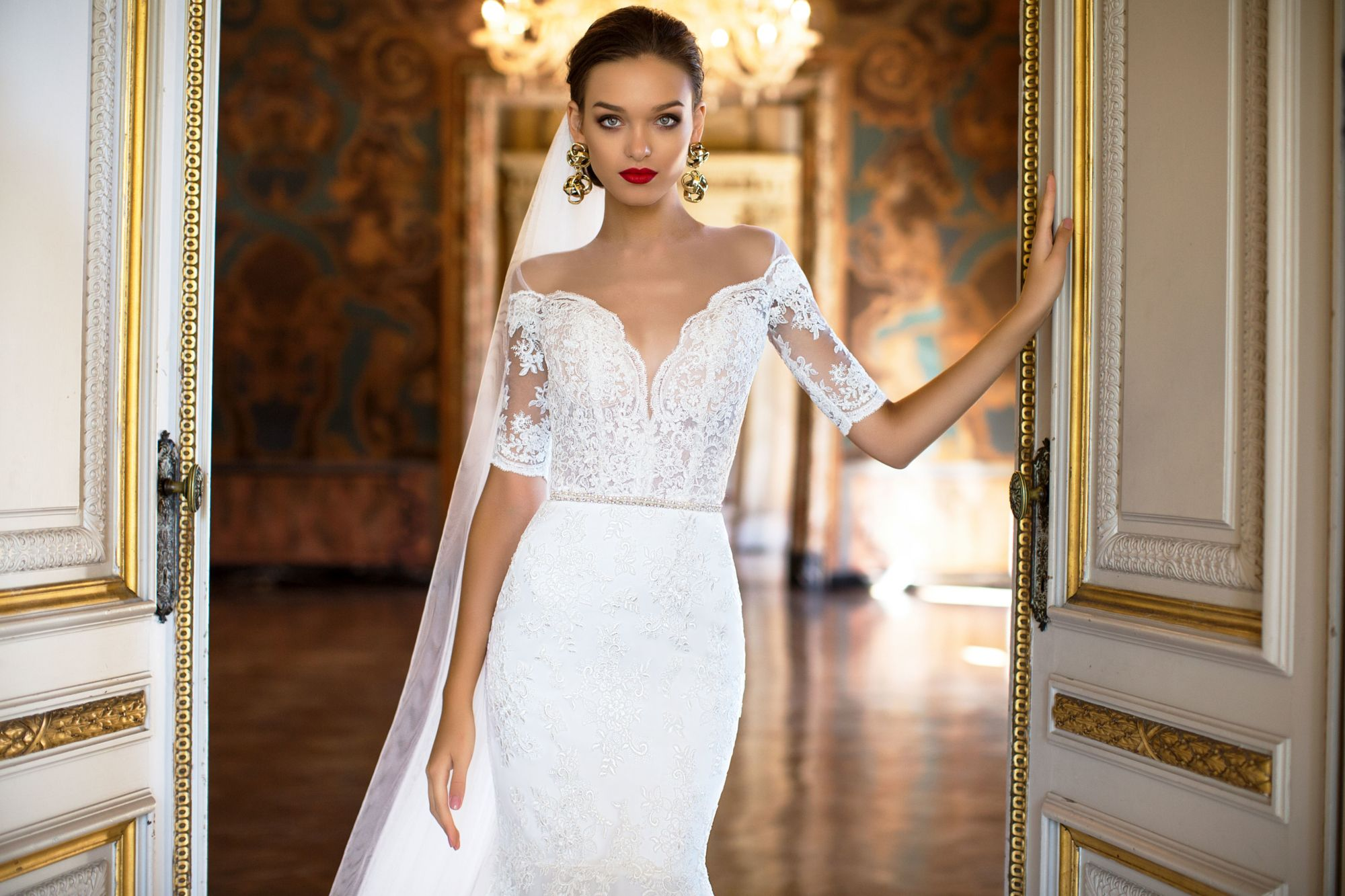 Undergarments for lace wedding dress  Rita  White Desire  MillaNova  MillaNova  Rita  Pinterest