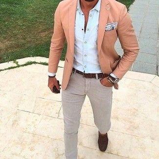 How To Wear A Pink Blazer 19 Looks Men S Fashion Mens Fashion Blazer Mens Fashion Edgy Mens Fashion Classy