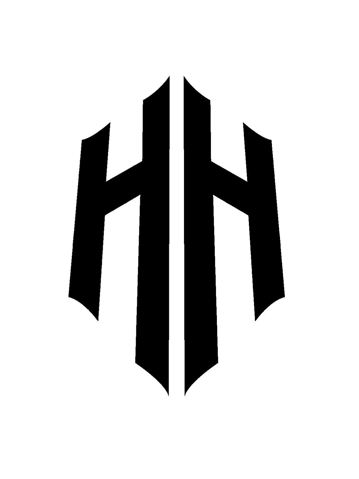 Pin By Hariom Haldkar On Hh Logos Typographic Logo Logo Design Template Logo Design
