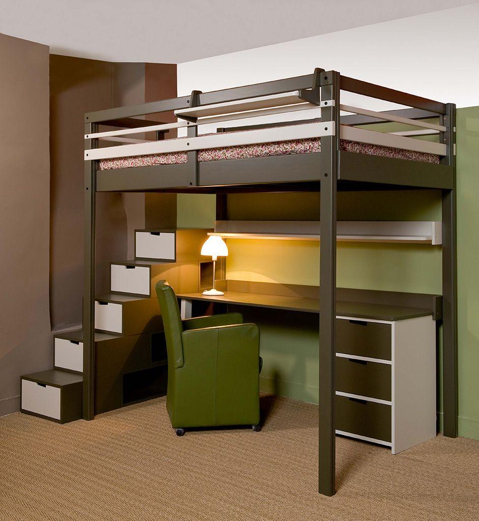 espace loggia diy loft bed