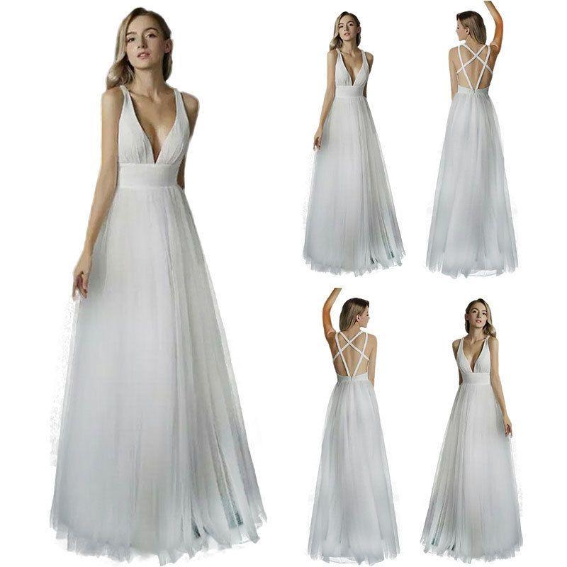 742949c21c Women Vintage Lace Long Maxi Cocktail Evening Wedding Party Formal Dress  T5-03  Unbranded
