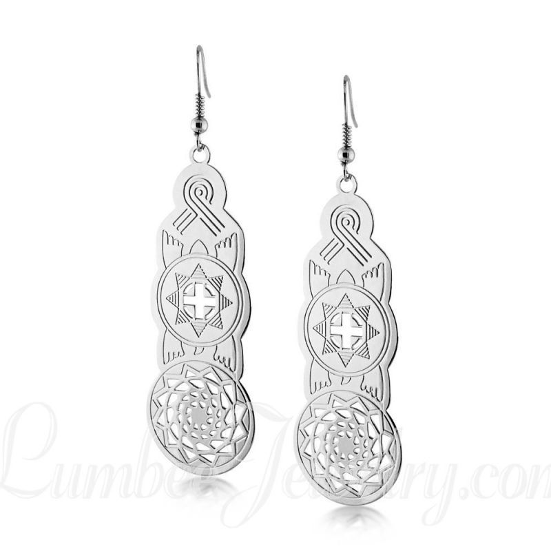 c2314cc1a Southeastern Woodlands Slabs Fun Ideas, Silver Earrings, Woodland, Silver  Drop Earrings