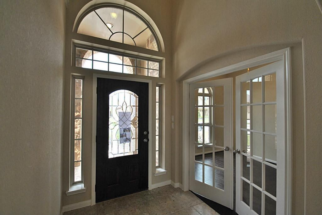 Foyer Office With French Doors French Doors Arched Interior