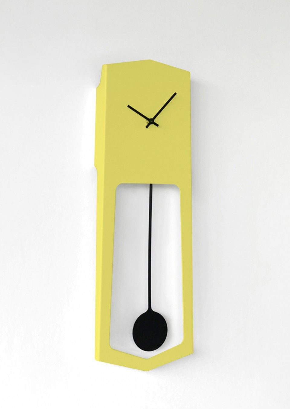 Yellow Wall Hanging Pendulum Clock   Items for sale - LIME LACE ...