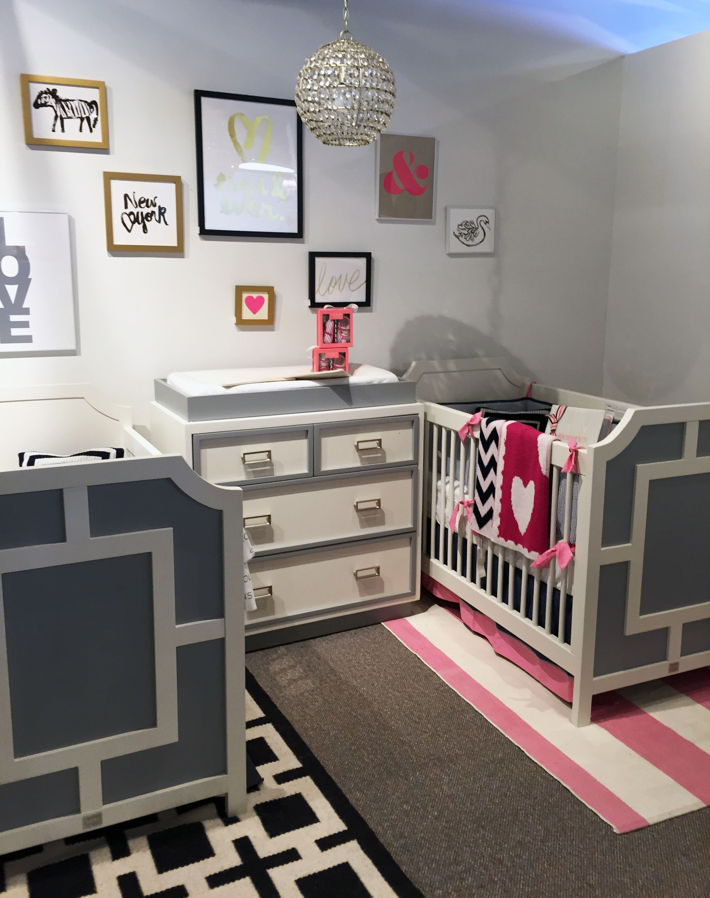 Tips For Decorating For Twins Project Nursery Twin Girls Bedroom Decor Twin Baby Rooms Nursery Room Design