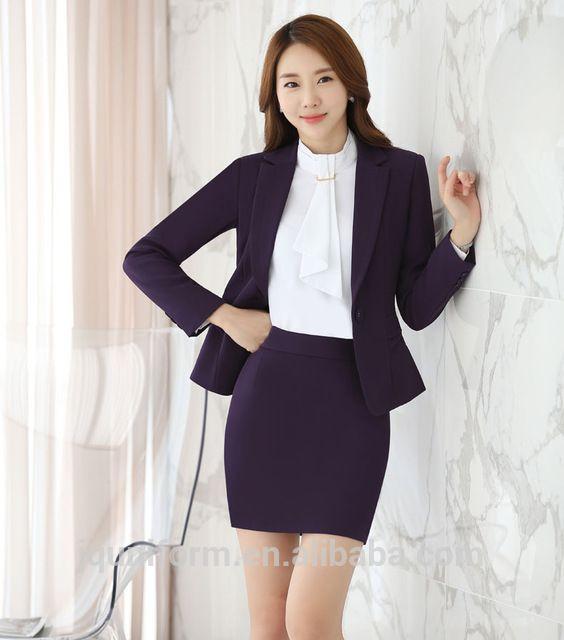 d390fd5d0fd Source Juqian New fashionable elegant uniform women office uniform women  formal suits on m.alibaba.com