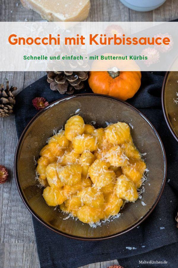 Schnelle Gnocchi mit leckerer Kürbissauce #herbstgerichte