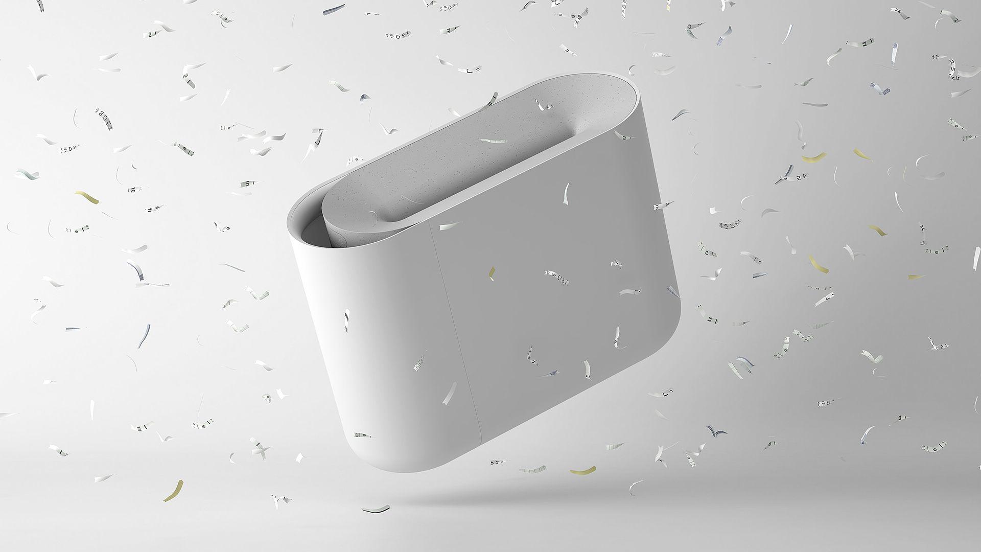 Aperture Paper Shredder on Behance Paper shredder