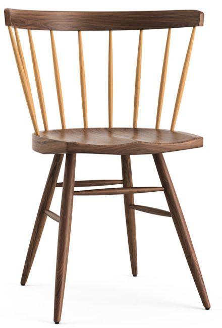Straight Chair Von George Nakashima Knoll International Moderne Stuhle Esszimmerstuhl Moderne Esszimmerstuhle