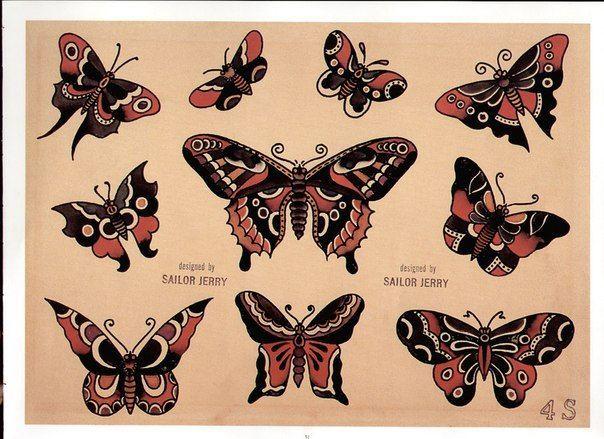 How To Make Sure Your Tattoo Heals Well Flash Tattoos Schmetterlingstatowierungen Und Sailor Jerry