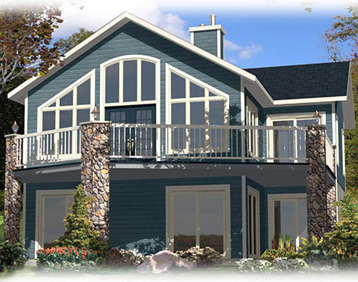 Plan 90164pd Vacation Escape Cottage Style House Plans Cottage Plan House Plans