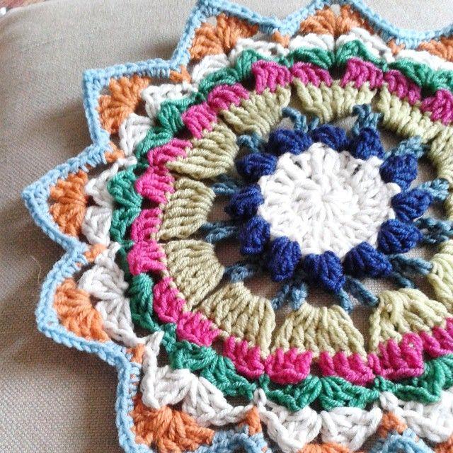 30 + Crochet Mandalas at:  http://www.crochetconcupiscence.com/2015/03/inspiration-crochet-mandalas/