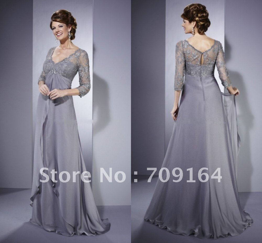 Long Elegant Mother Groom Dresses