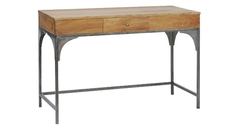 Aduk bureau design industriel en bois et métal ce bureau aduk s