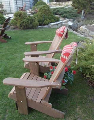 Headrest Cushions Handmade D Shaped Adirondack Chair Provide Additional Comfort To All Of Our Models Including Clic Royal