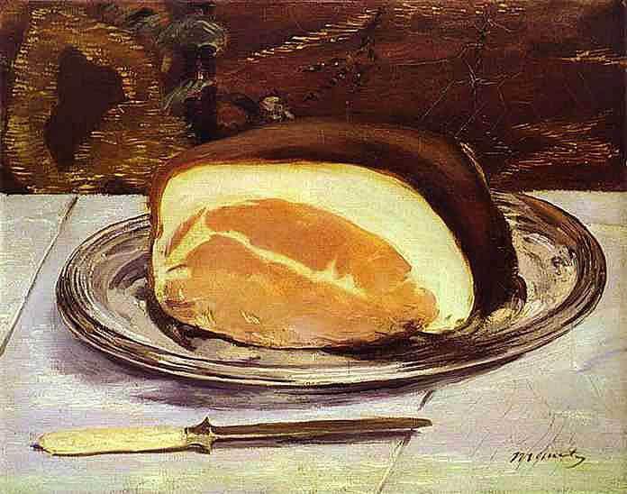 Edouard Manet - Der Schinken (1880) - Öl auf Leinwand - Glasgow Museums and Art Galleries