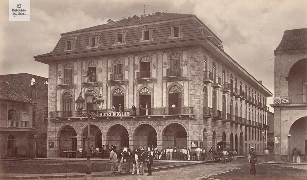 Panamá en 1875   Panama, Grand hotel, Panamanian