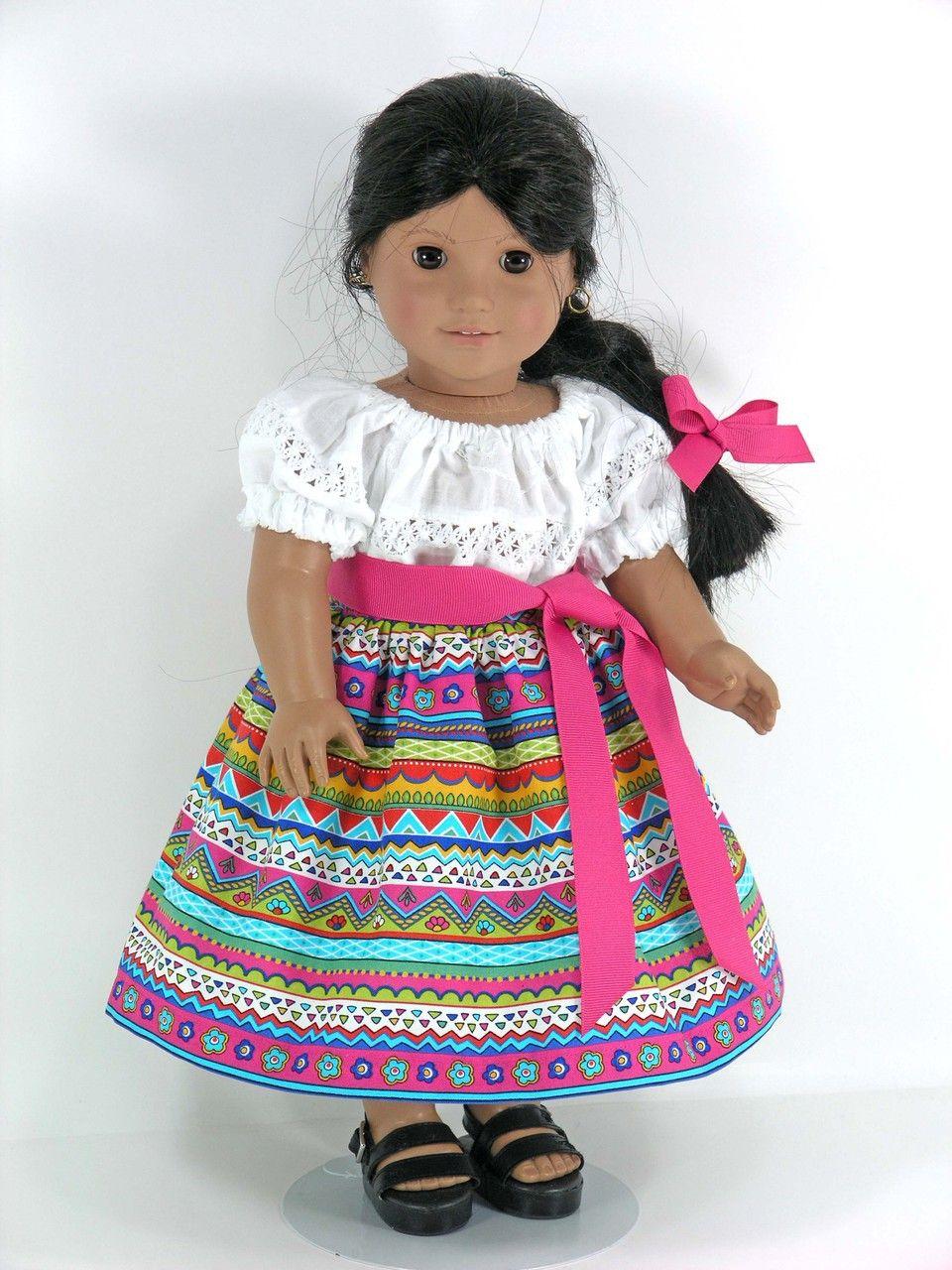 american girl doll clothes for josefina camisa skirt sash pantalettes hair ribbon. Black Bedroom Furniture Sets. Home Design Ideas