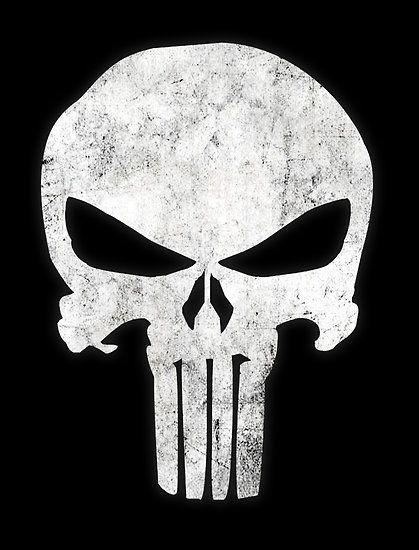 The Punisher Skull T-Shirt: