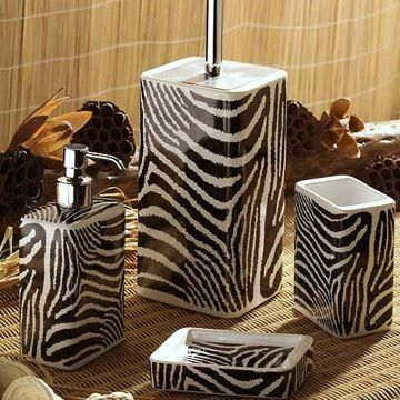 African Themed Bathroom Accessories