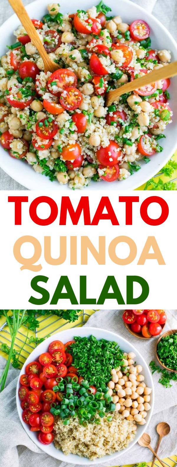 Photo of TOMATO QUINOA SALAD #vegetarian #easysalad