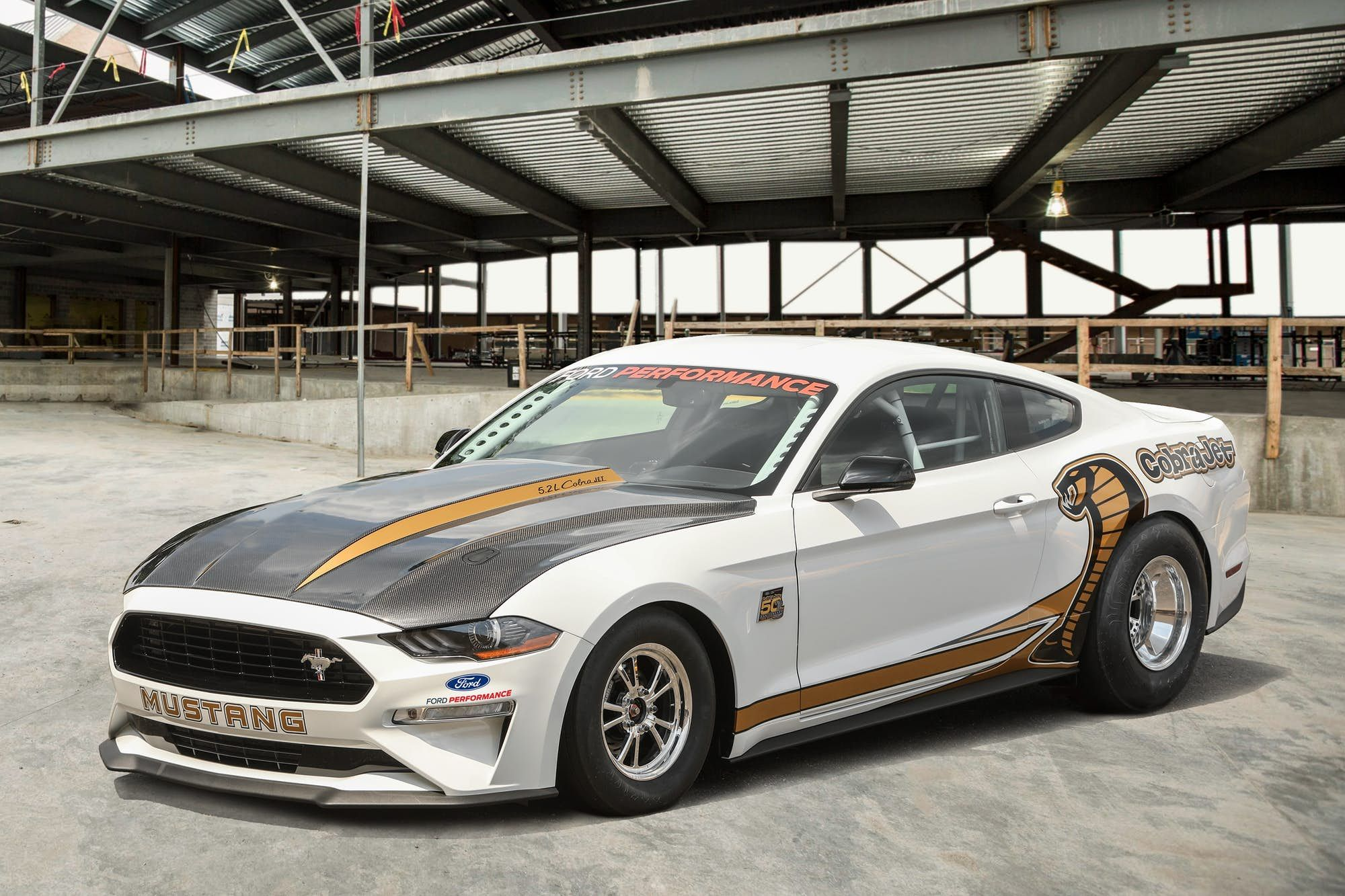 Ford Heats Up The Track With New Mustang Cobra Jet Mustang Cobra Mustang Cobra Jet Ford Mustang Cobra
