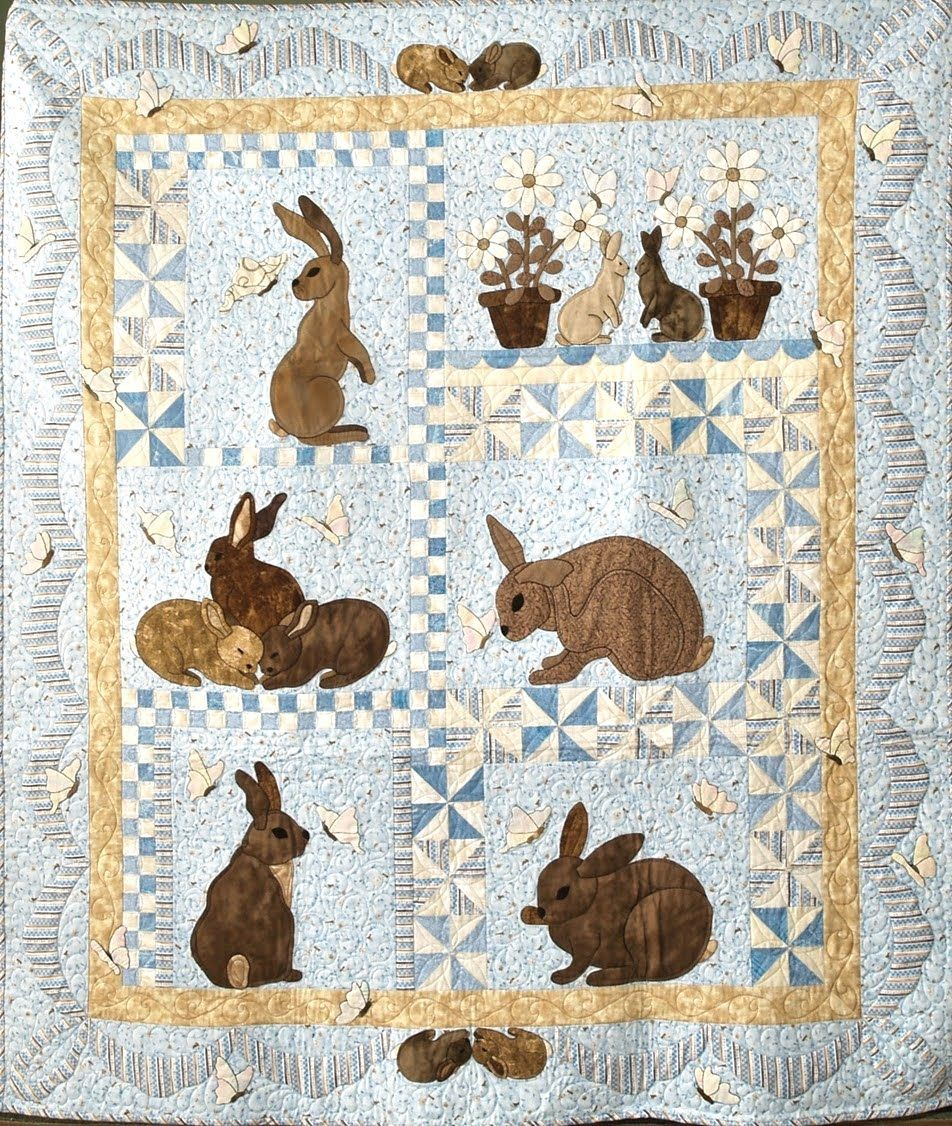 Dorothy Baker Designs Bunny Quilt Holiday Quilts Quilts