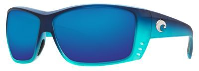 cdd2478655 Costa Cat Cay 580G Polarized Sunglasses - Matte Caribbean Fade Blue Mirror