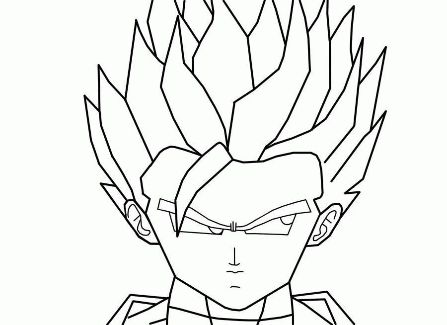 Printable Coloring Pages For Dragon Ball Z – Printable Coloring Pages