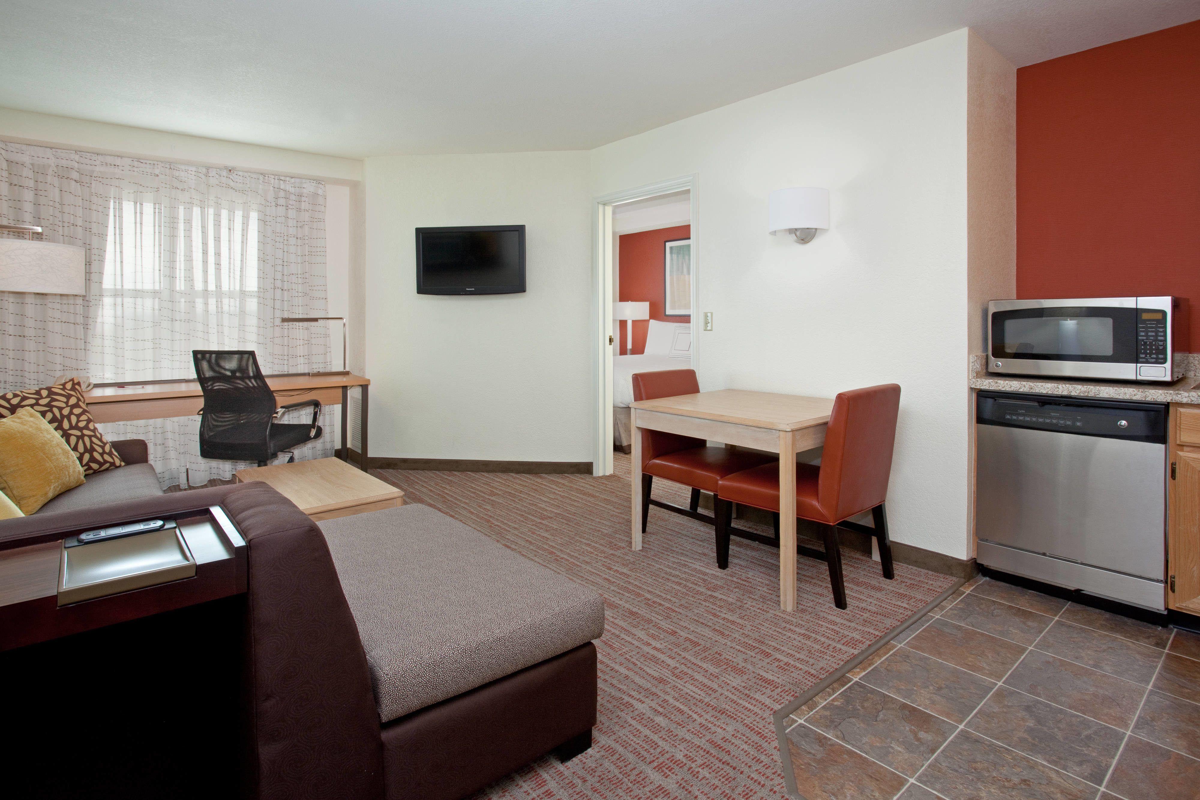 Residence inn salt lake city airport onebedroom suite hotel room