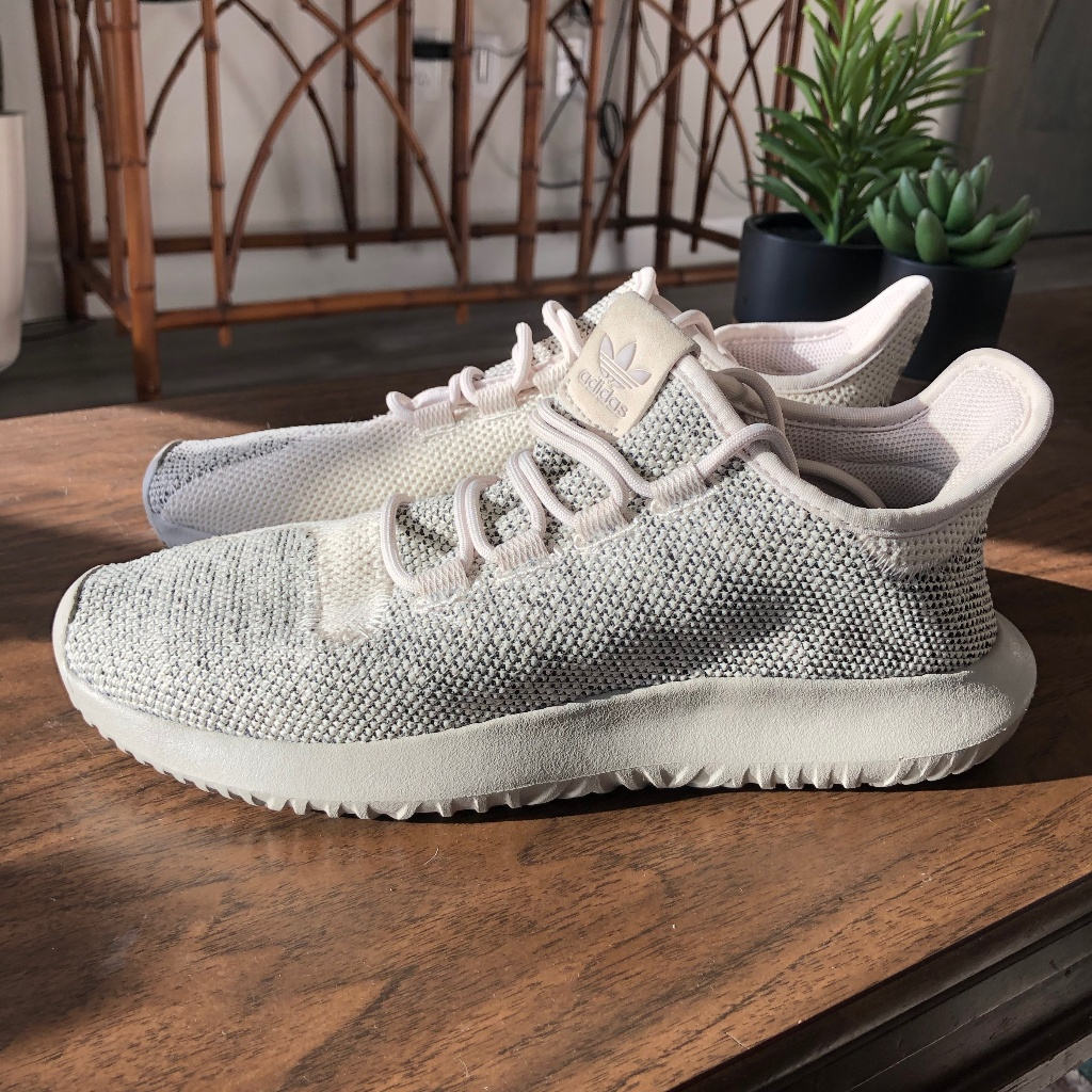 Adidas Tubular Shadow Knit Light Brown Sneakers Adidas Tubular