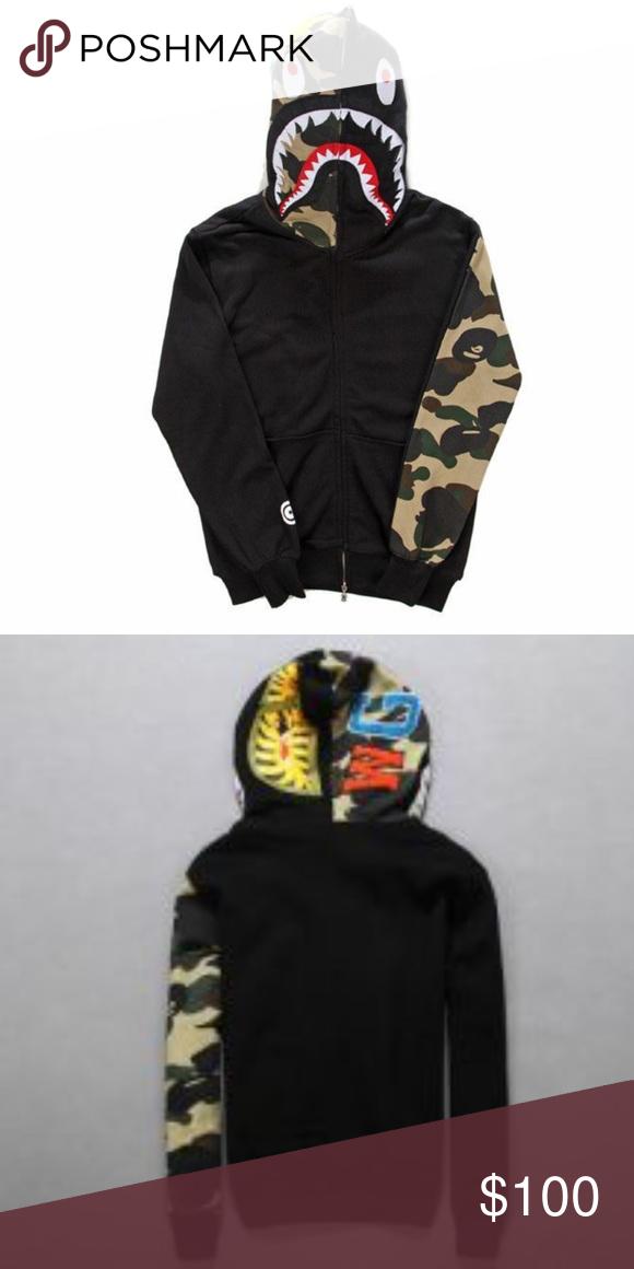 Bathing Ape Hoodie Size M Men s BAPE hoodie new with tags bathing ape  Shirts Sweatshirts   Hoodies 0dacea2ea3de