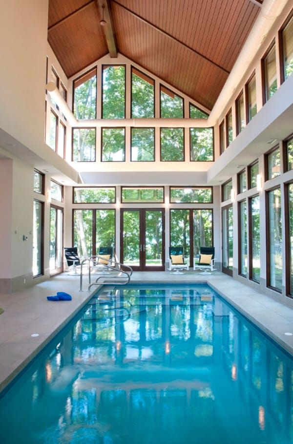 50 Ridiculously Amazing Modern Indoor Pools Luxury