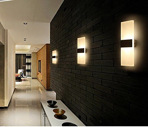 Lightess 6w Led Wandleuchten Innen Aus Aluminium Kreative Minimalistische Fur Wohnzimmer Schlafzimmer A Wandbeleuchtung Led Wandleuchten Led Wandleuchten Innen