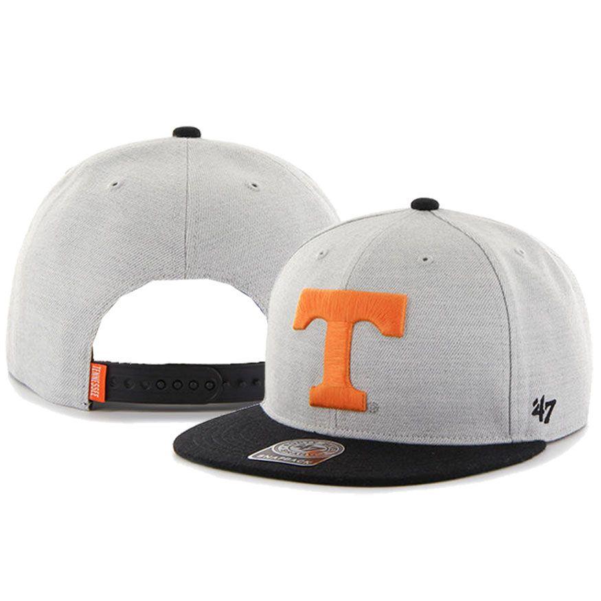 newest 72e7e 61661  47 Brand Tennessee Volunteers Catfish Snapback Adjustable Hat (Grey)
