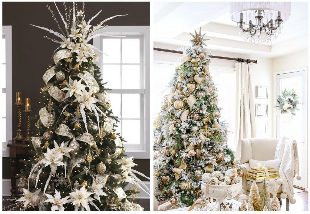 Christmas Tree Decor For Every Design Style Decorilla Online Interior Design Christmas Tree Decorations Tree Decor Christmas Tree
