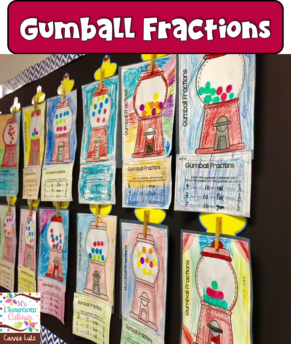 Fractions Worksheets And Fun Activities