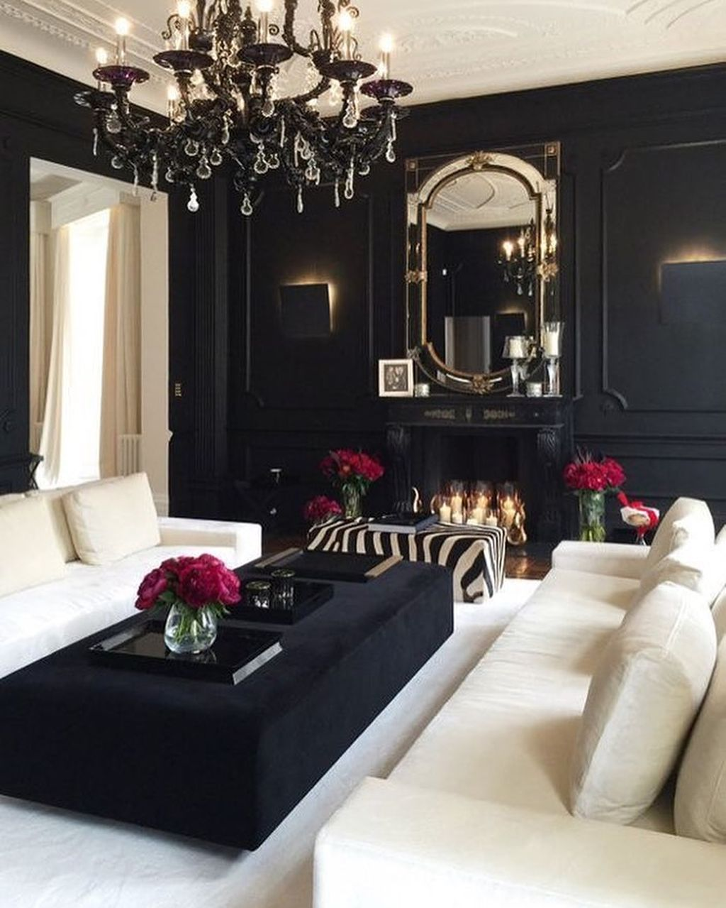 Modern Glam Living Room Decorating Ideas 19: 37 Cool Gothic Living Room Designs Ideas In 2020