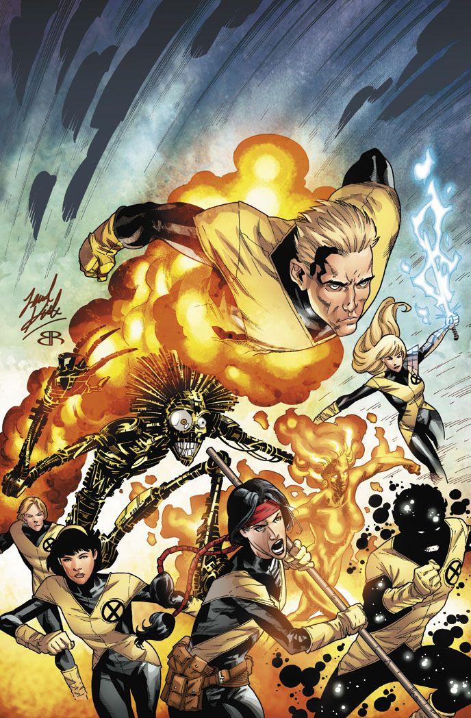 New Mutants By Brianreber On Deviantart Marvel Comics Art Comic Art Comics