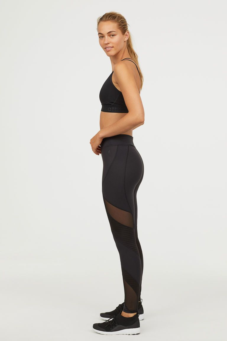 ae421e6129b7d Sports tights   sofi.Fash   Sport tights, Black tights, H&m