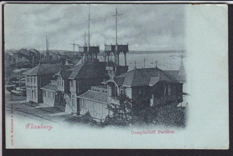 Flensburg-Germany-Dampfschiff Pavillon-Boat-Postcard | eBay