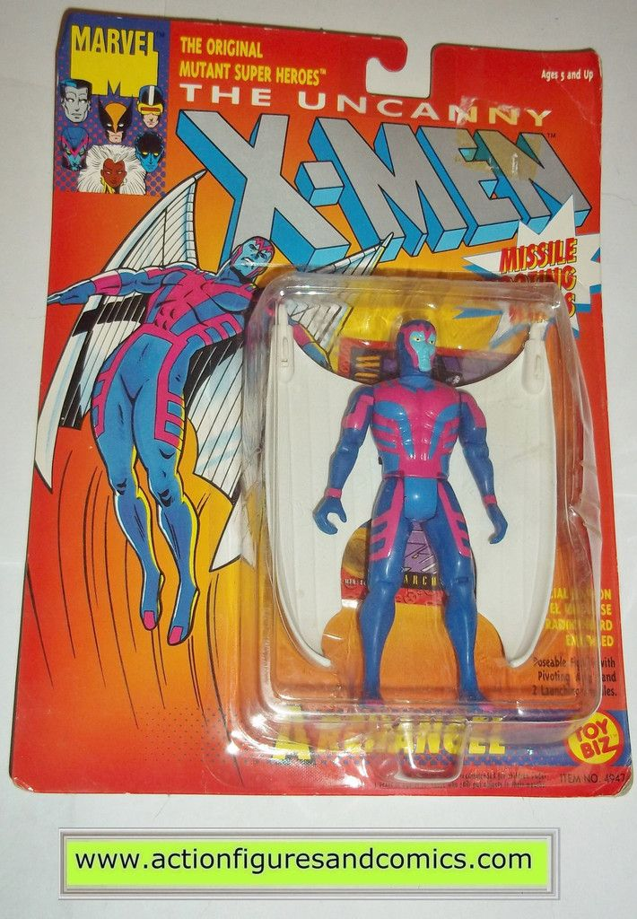 VINTAGE MARVEL UNCANNY X-MEN SPIDERMAN X-FORCE ORIGINAL ACTION FIGURES 1990/'S