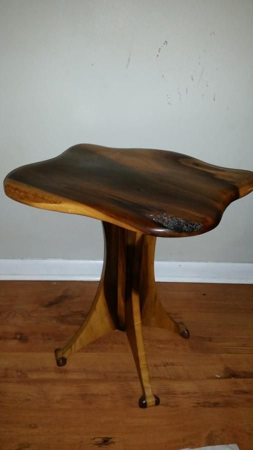 My Little Magnolia Table.   Woodworking Creation By Sean