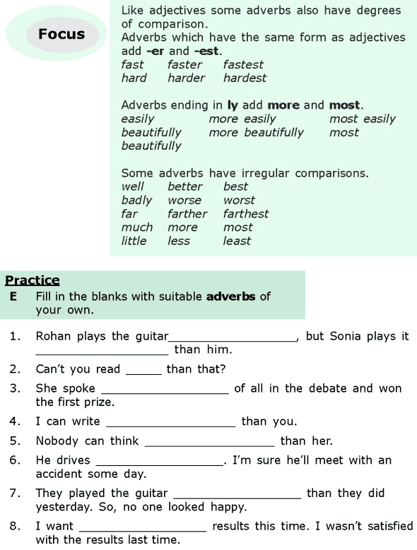 Grade 6 Grammar Lesson 15 Adjectives And Adverbs 5 Grammar