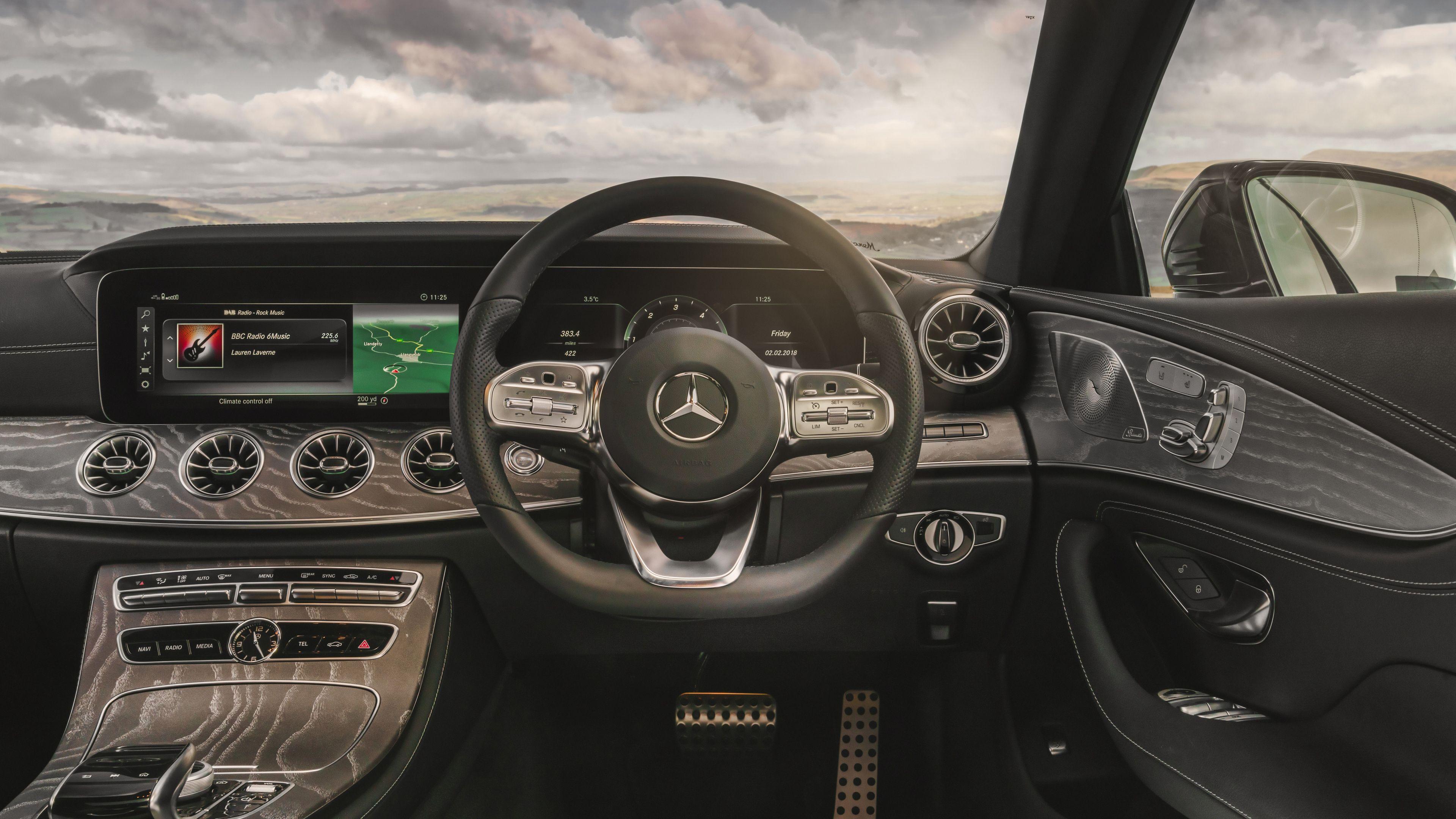 Wallpaper 4k Mercedes Benz Cls 400 D Amg Interior 2018 Cars