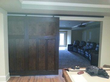 "Basement Finishing - traditional - basement - atlanta - Ken Witkowski Enterprises w/ Chuck Beeghley  ""Basement"""