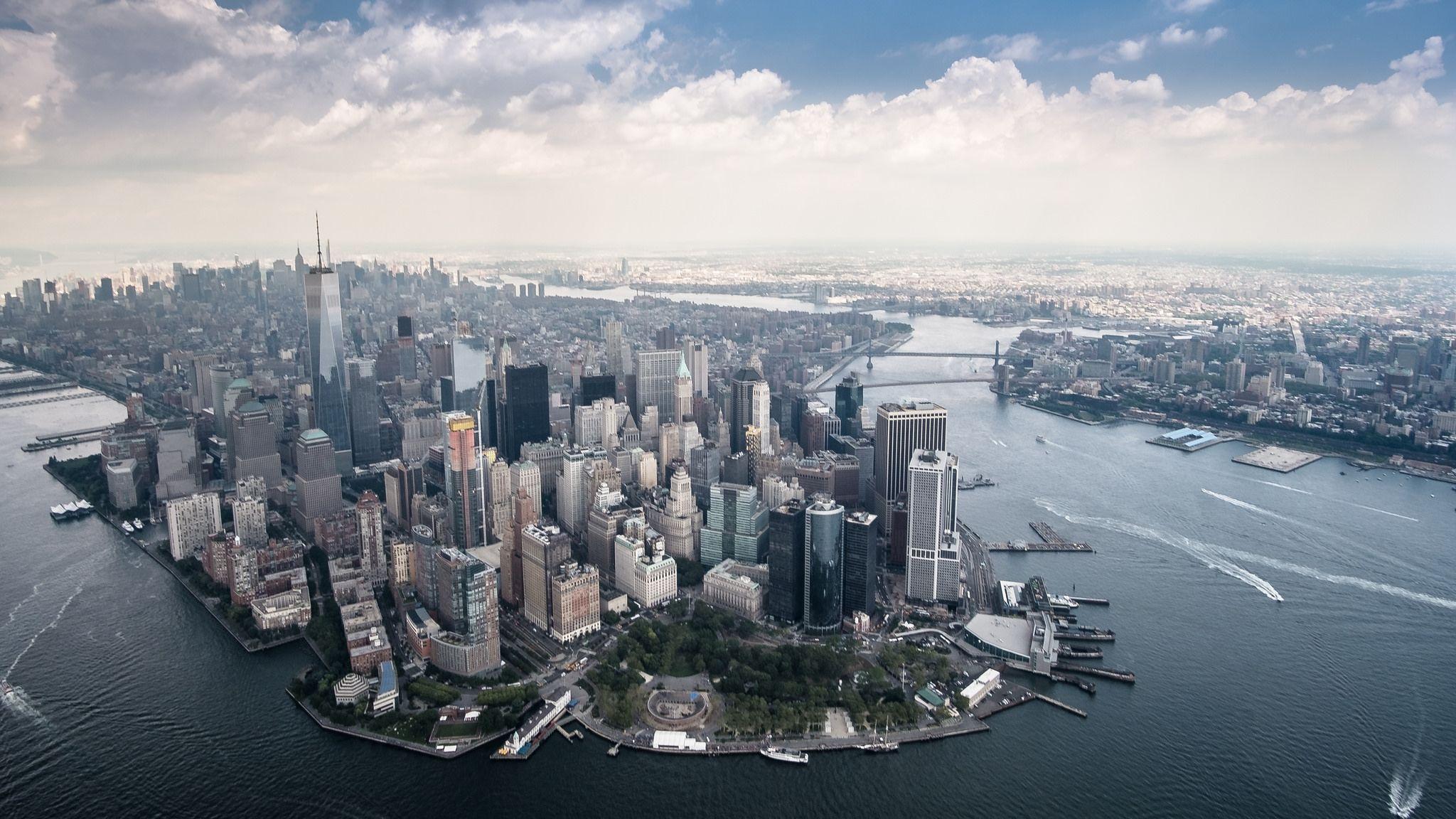 Lower Manhattan Aerial Lower Manhattan City From Above Manhattan Photography